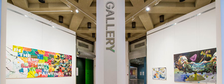 Wesfarmers microgalleries showing work in the Wesfarmers Collection by Richard Bell, Ben-Quilty and Jan Billycan